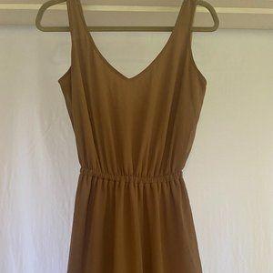 Show Me Your MuMu Taupe Maxi Bridesmaid Dress